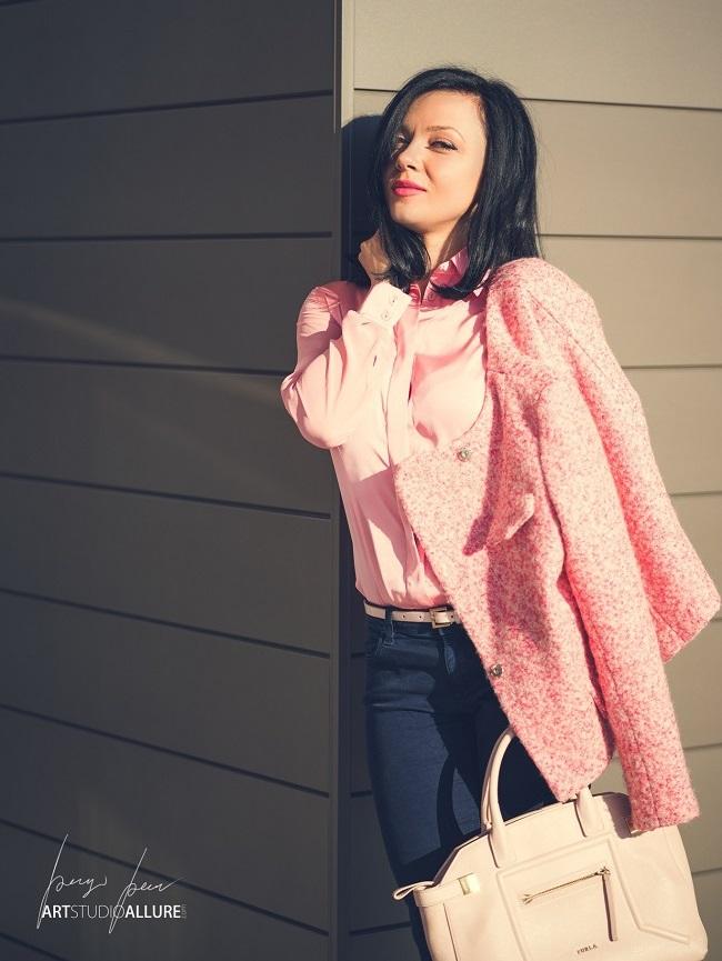 kameliya anastasova fashion blogger pink outfit