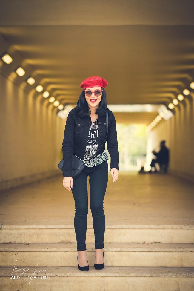 bloger kameliya anastasova chervena shapka bareta