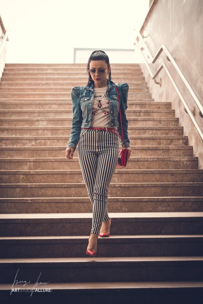 denim outfit ideas fashion blogger kameliya anastasova