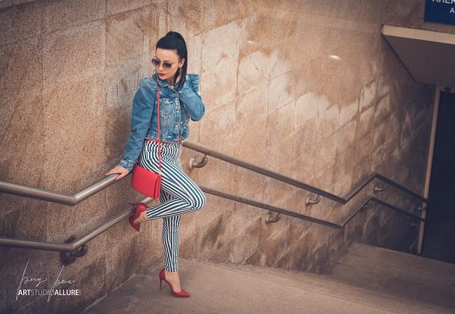 denim outfit fashion blogger kameliya anastasova