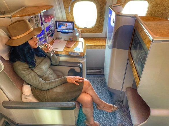 kameliya anastasova polet s emirates
